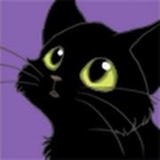 Кошка Черная фыррр on My World.
